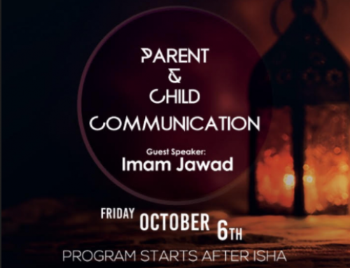 "Friday Night Lecture ""Parent and Child Communication"""
