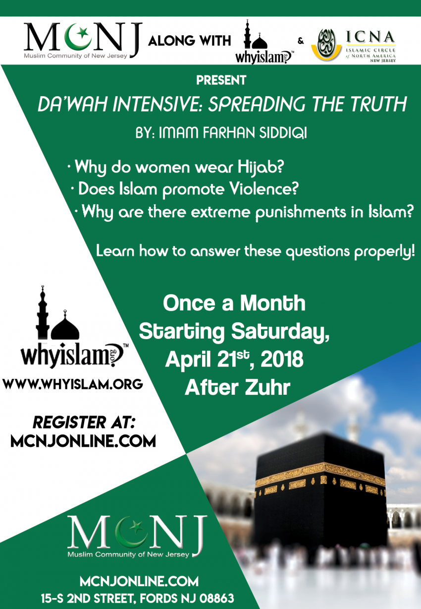 Da'wah Intensive : Spreading the truth.