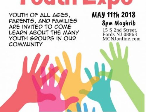 MCNJ Youth Expo Friday May 11th